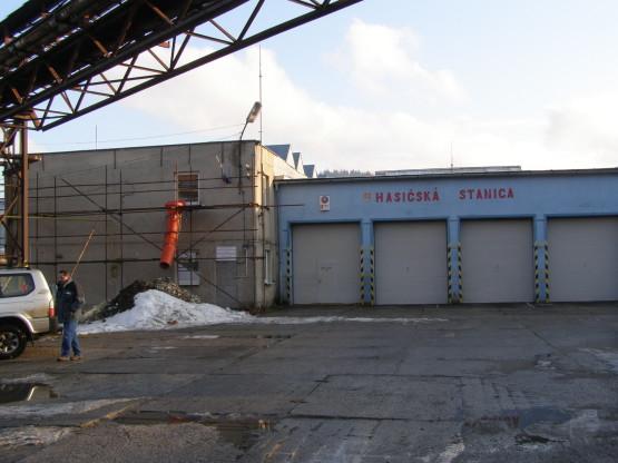 Hasičská stanica v Turzovke pred rekonštrukciou